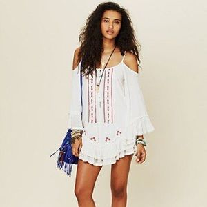 Free People FP One Flamenco Cold Shoulder Dress